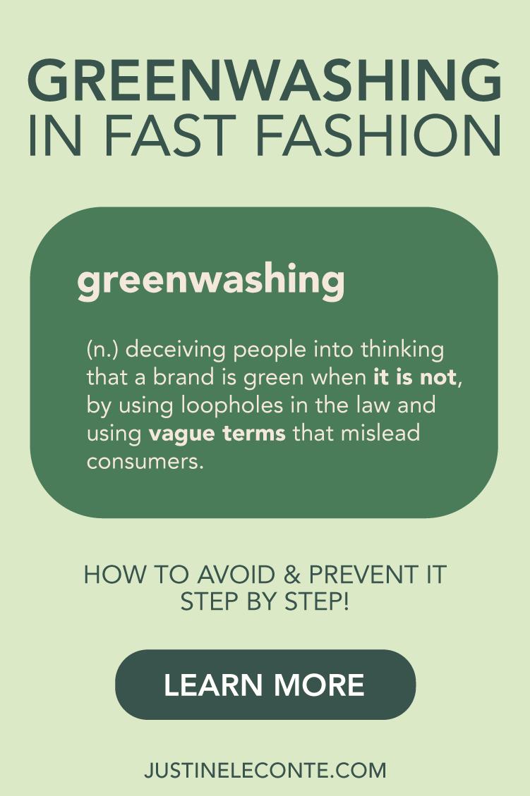 justine leconte pinterest greenwashing fast fashion