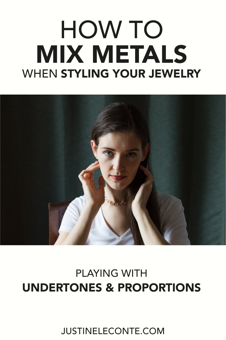 justine leconte pinterest blog post how to mix metals styling jewelry