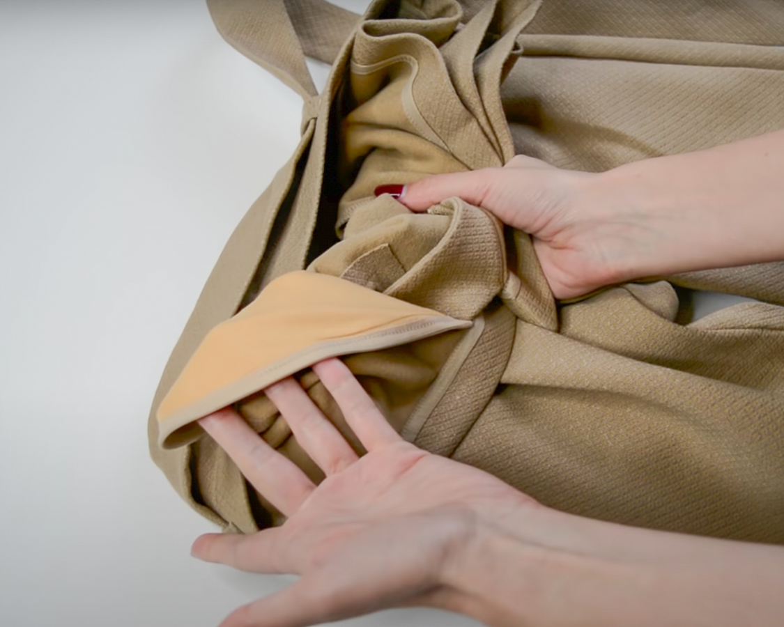 Justine Leconte blog post good vs poor quality clothing 5 steps