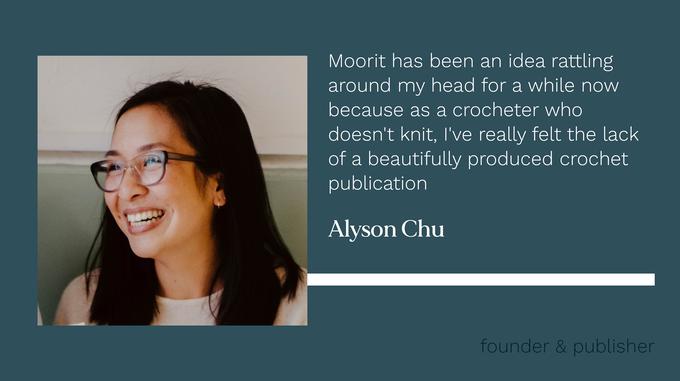 Headshot of Alyson Chu.  She has long dark hair, wears glasses and a huge smile.