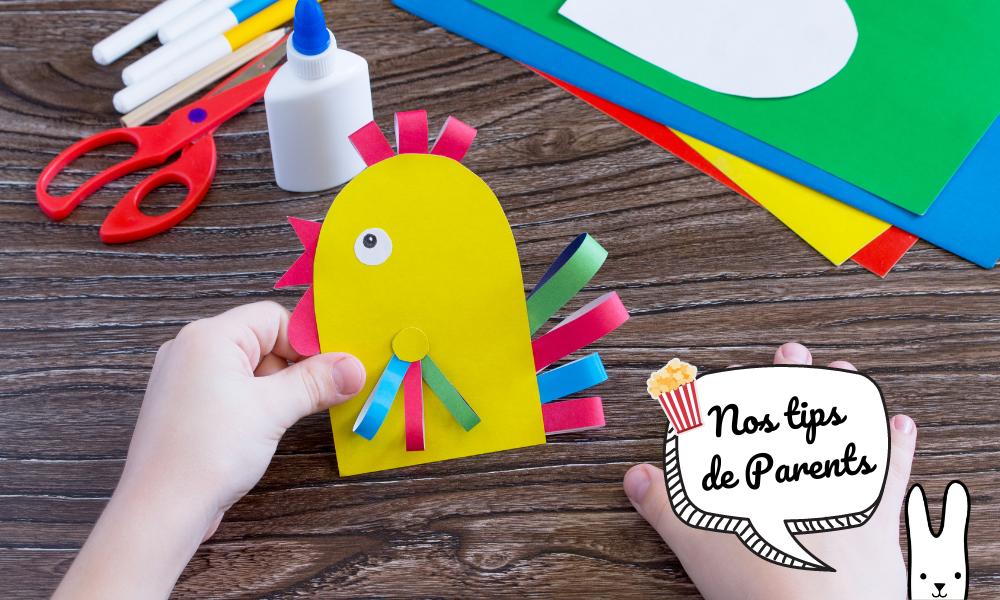 Activité manuelle facile et rapide : 10 super sites pour les enfants !
