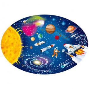 L'espace et le système solaire - Puzzle ovale - Sassi