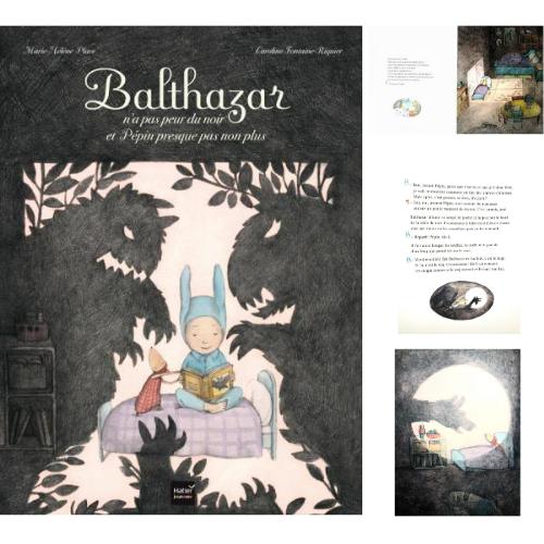 Balthazar n'a pas peur du noir - Pédagogie Montessori - éditions Hatier