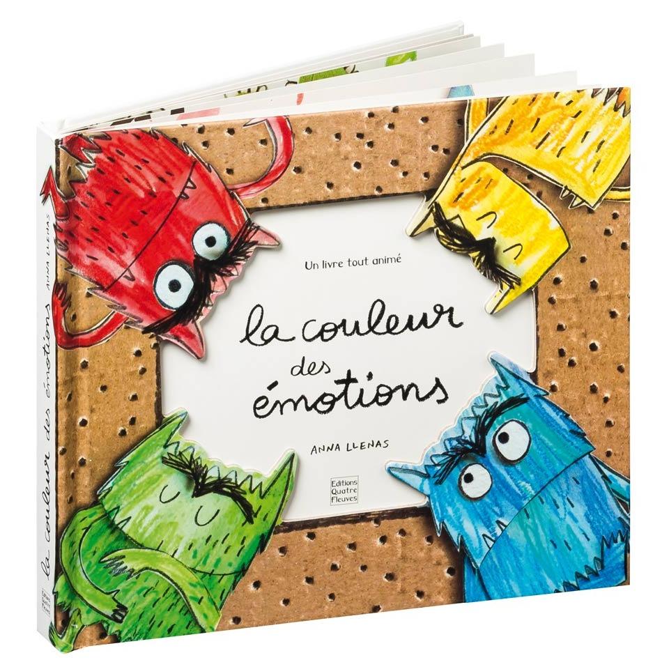 La couleur des émotions - Livre pop-up enfant