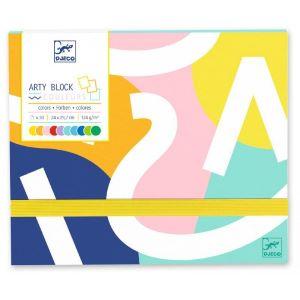 Carton à dessin Arty block - Papier coloré