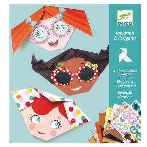 Initiation à l'origami - Frimousses - Djeco