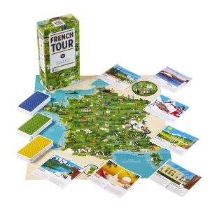 French tour- Le jeu en Famille pour découvrir la France