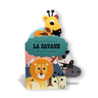 La savane - Un livre pour les bébés de Marcel et Joachim