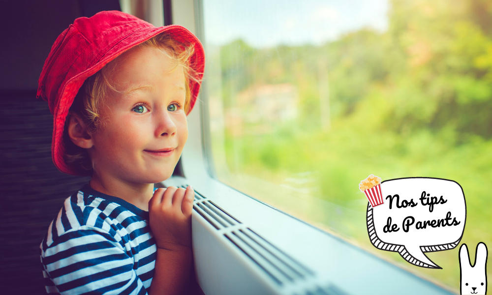 Occuper son enfant dans le train: 5 astuces à connaître