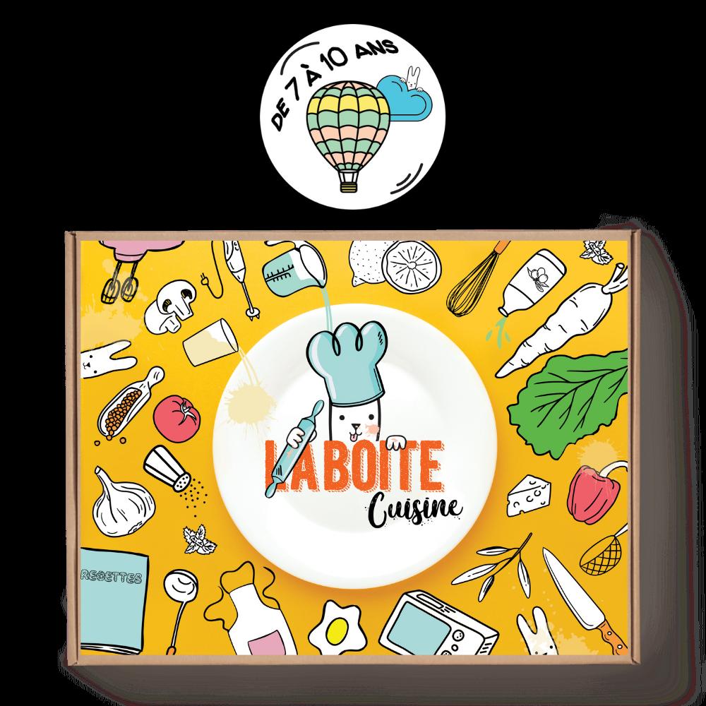La boîte cuisine pour les enfants de 7 à 10 ans