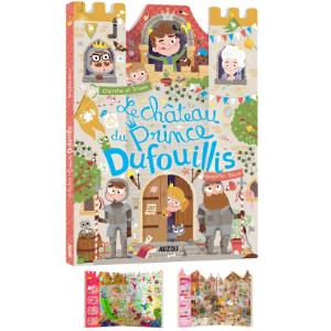 Le château du Prince Dufouillis - Livre cherche et trouve pour les enfants