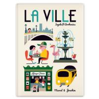 La ville - Un livre pour enfant de 2 ans et +