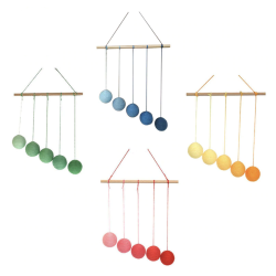 Mobiles bébés Montessori