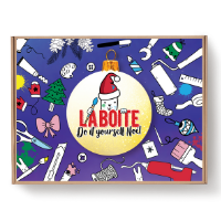La boîte DIY de Noël - pour les enfants de 4 à 7 ans