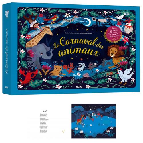 Le carnaval des animaux - livre enfant Auzou