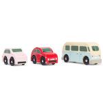 Set de 3 voitures retro - Jouets en bois écologique