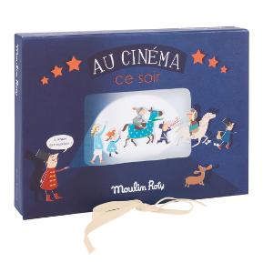 Coffret Lampe à histoires - Le cinéma - Moulin Roty