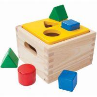 Boîte à formes pour bébé en bois écologique