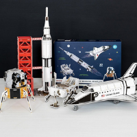 Maquettes 3D - Les véhicules de l'espace