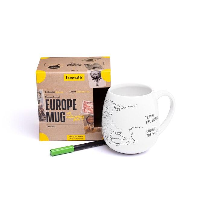 EUROPE MUG : une incroyable tasse à personnaliser à l'esprit 100% VOYAGE