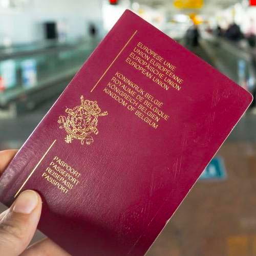 Passeport de la Belgique