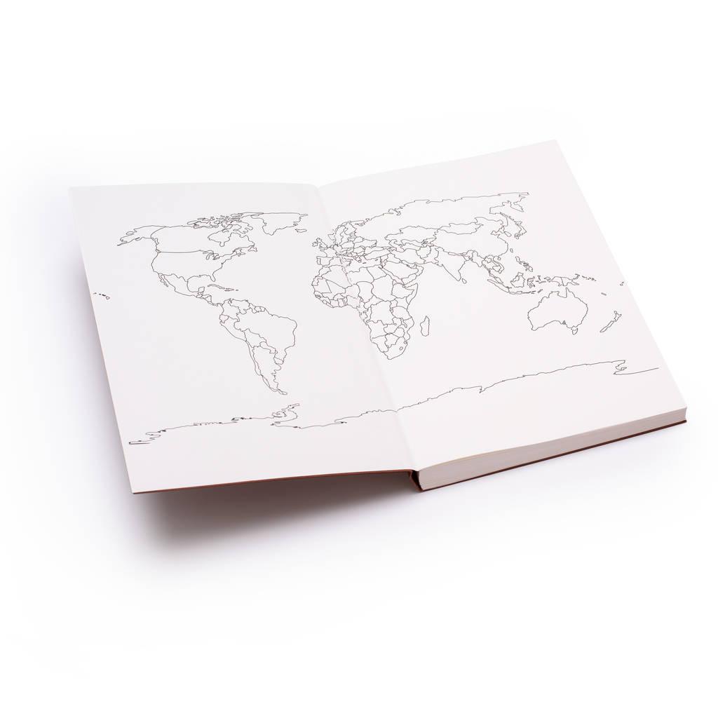 Idées cadeaux pour voyageurs : le carnet de voyage