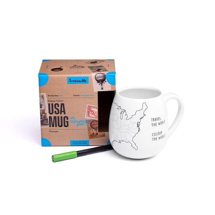 USA MUG : une incroyable tasse à personnaliser à l'esprit 100% VOYAGE