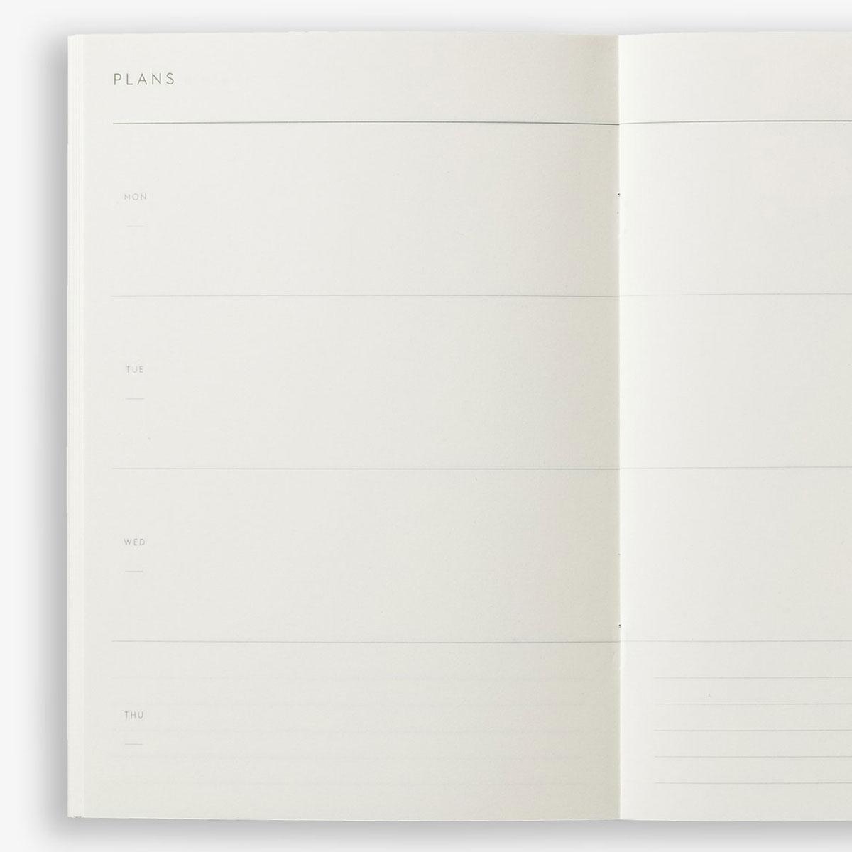 Planificador Semanal Kartotek Weekly