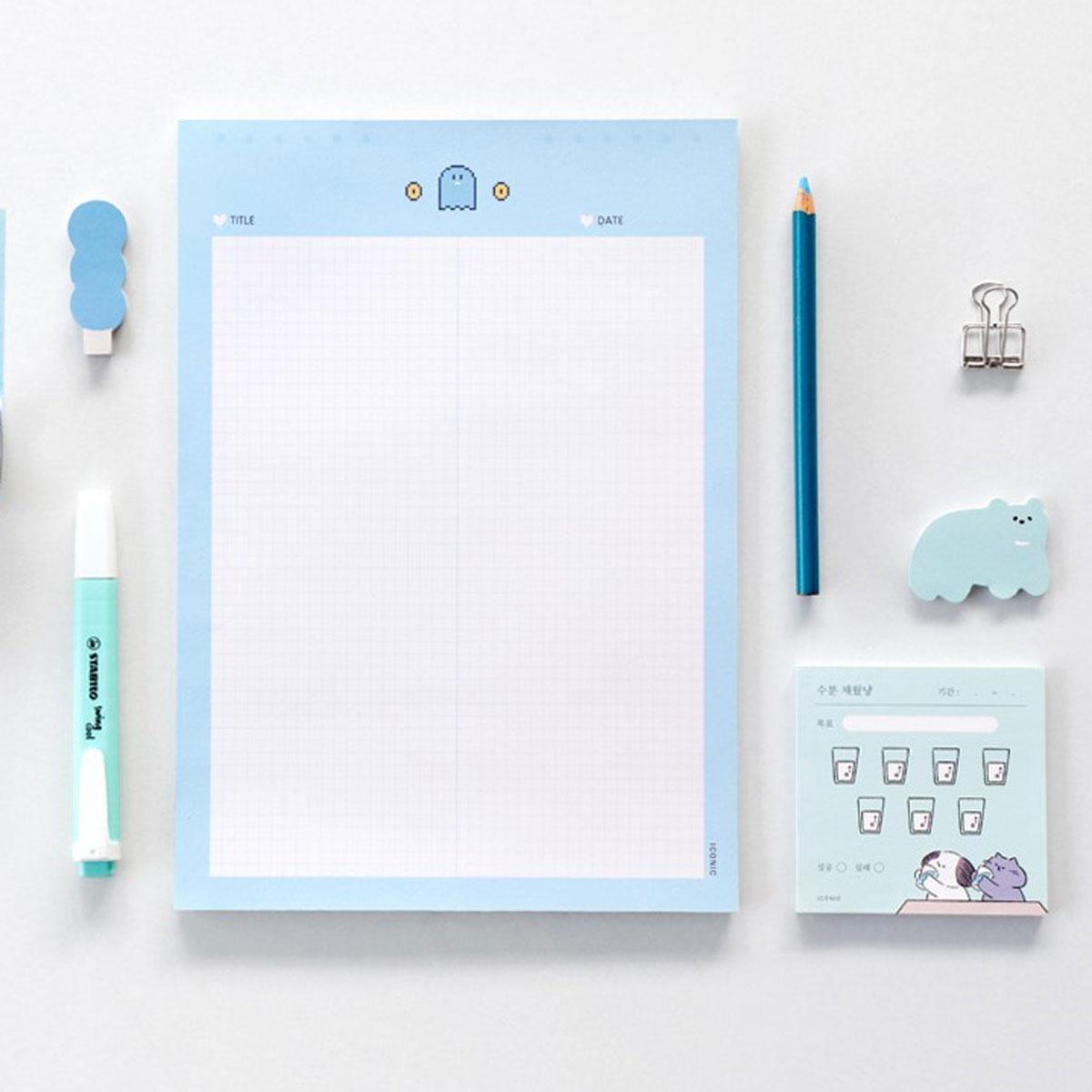 Bloc de notas Sweet Notepad | B5 | Ghost | Hojas cuadriculadas