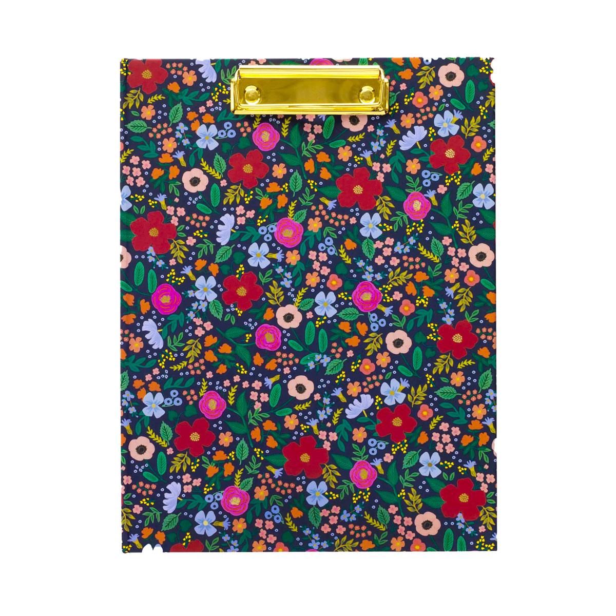 Rifle Paper Co. Carpeta Clipboard Wild Rose Clipfolio | Likely.es