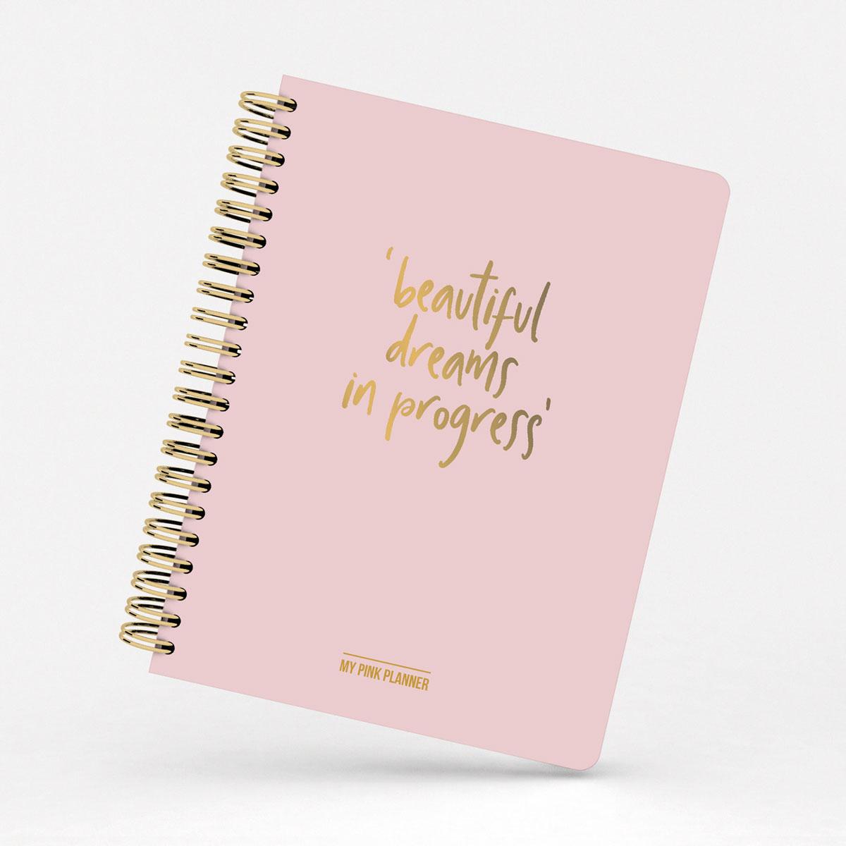 Planificador Semanal My Pink Planner