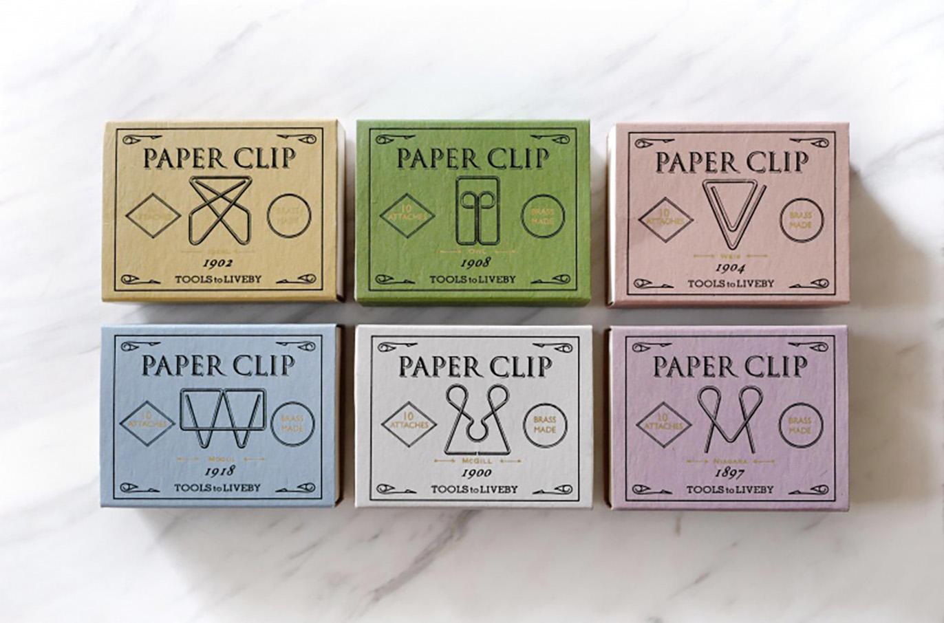 Papelería vintage |Clips vintage | Tools to Liveby | Likely.es