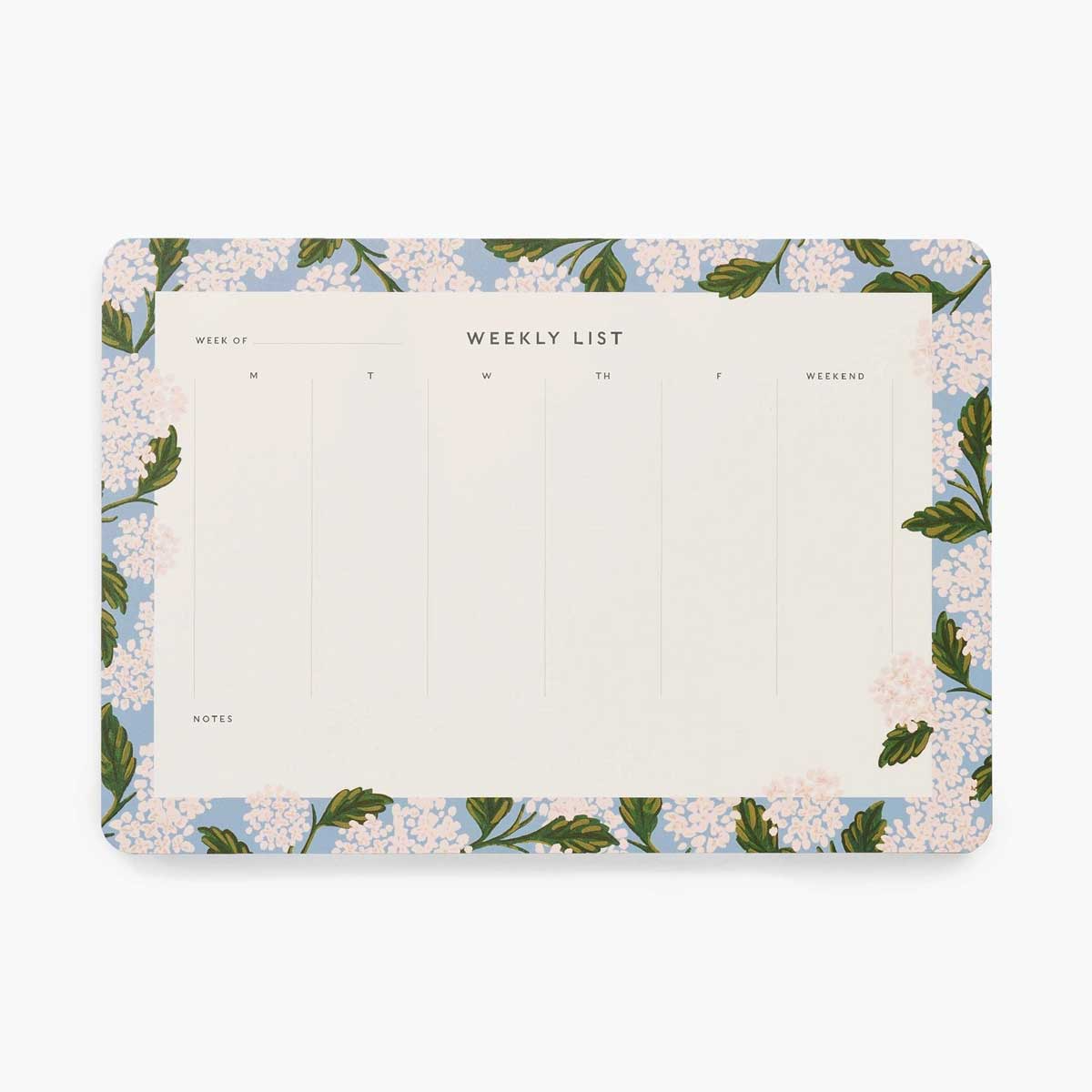Planificador Semanal Hydrangea Rifle Paper Co. |Likely.es