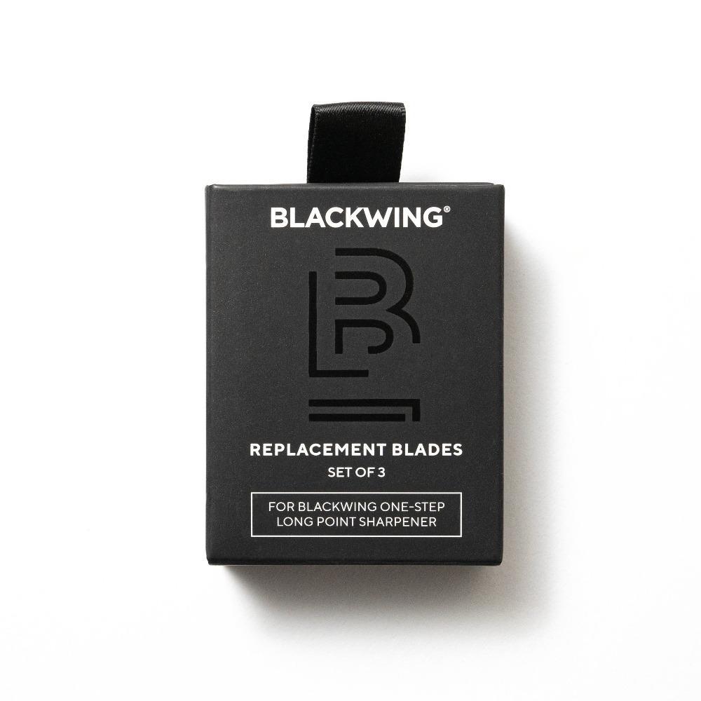 Recambio de Cuchillas Sacapuntas Blackwing One Step Long Point | 3 Cuchillas