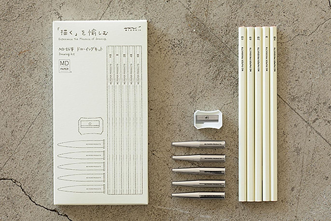 Set de lápices MD para dibujo
