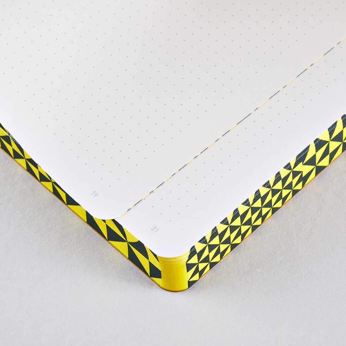 Nuuna | Cuaderno The Happy Book L | Malla de puntos |Bullet Journal