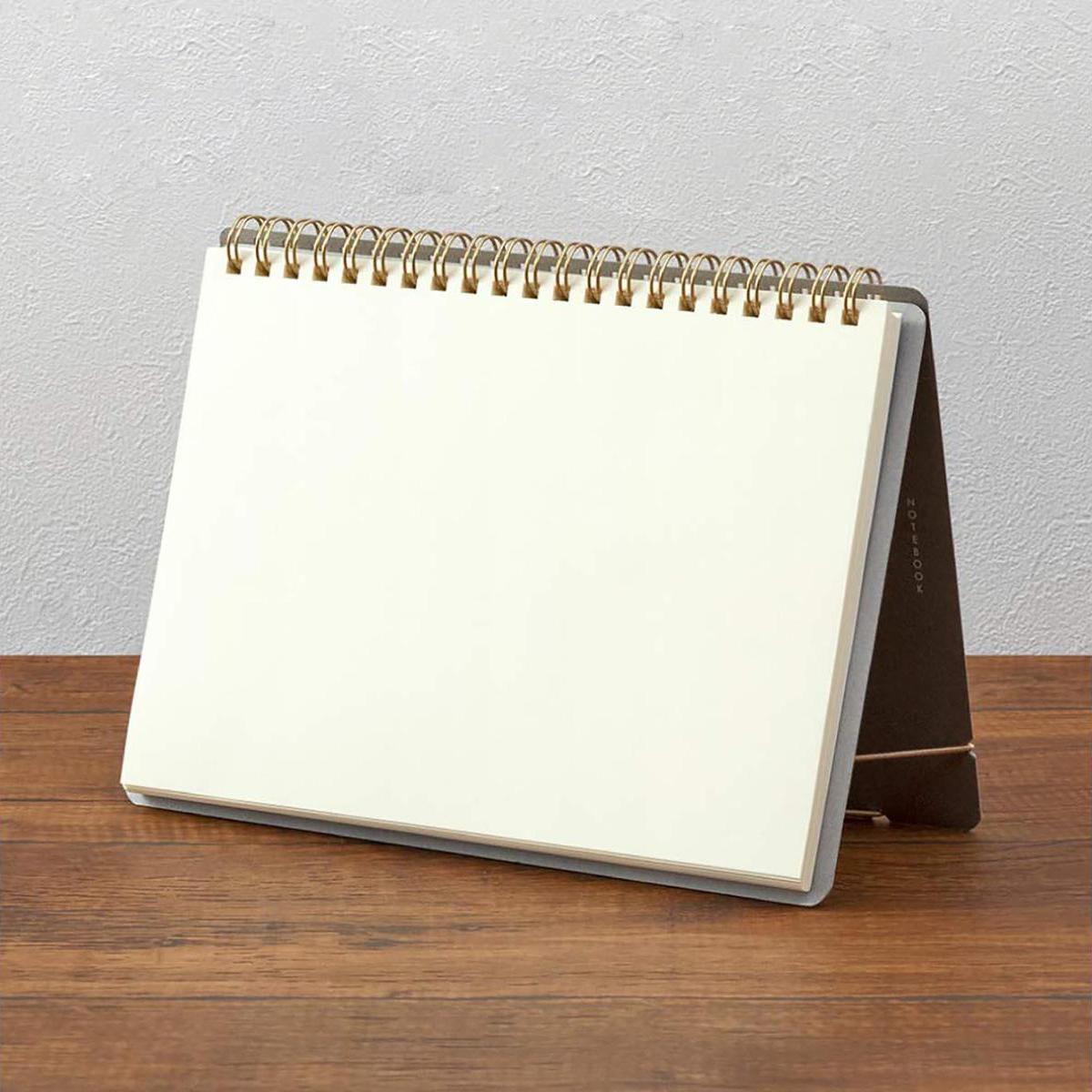 Comprar Midori Cuaderno de anillas Stand | A5 | Hojas Lisas | Likely.es