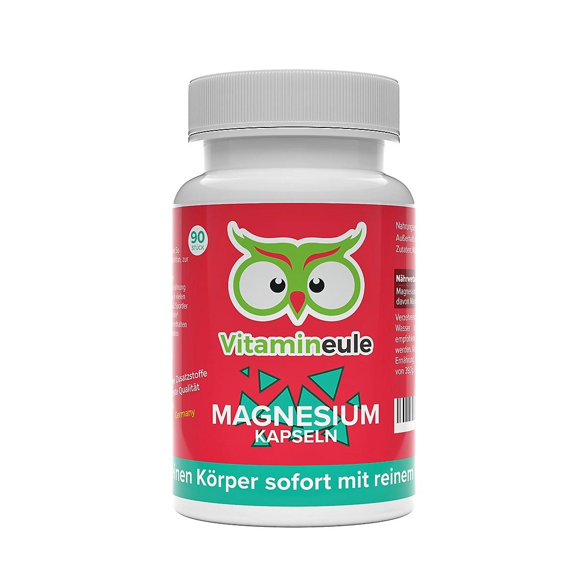 Magnesium Kapseln von Vitamineule