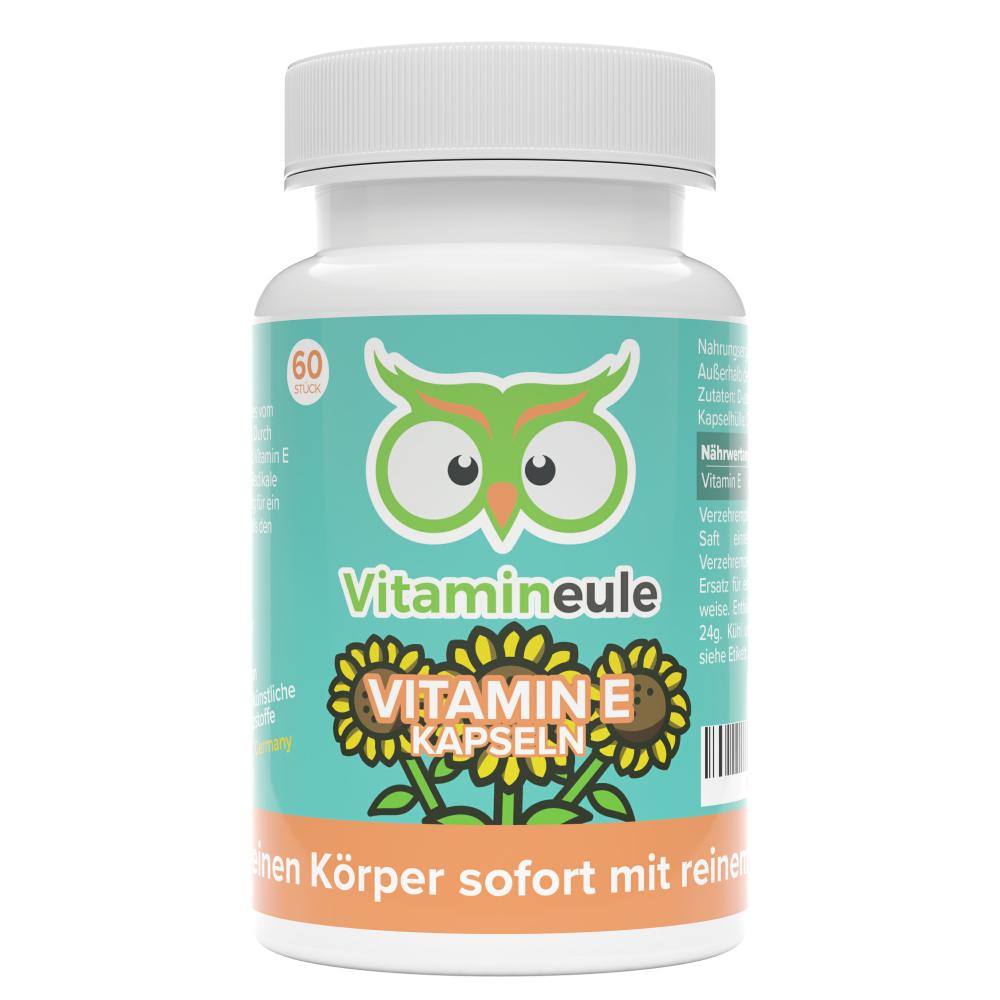 Vitamin E Kapseln von Vitamineule