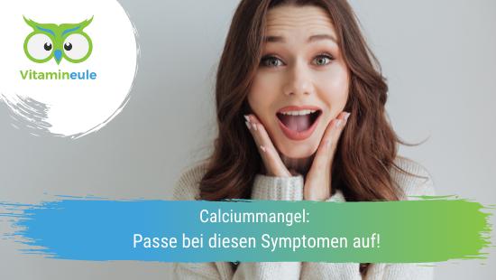 Calciummangel: Passe bei diesen Symptomen auf!