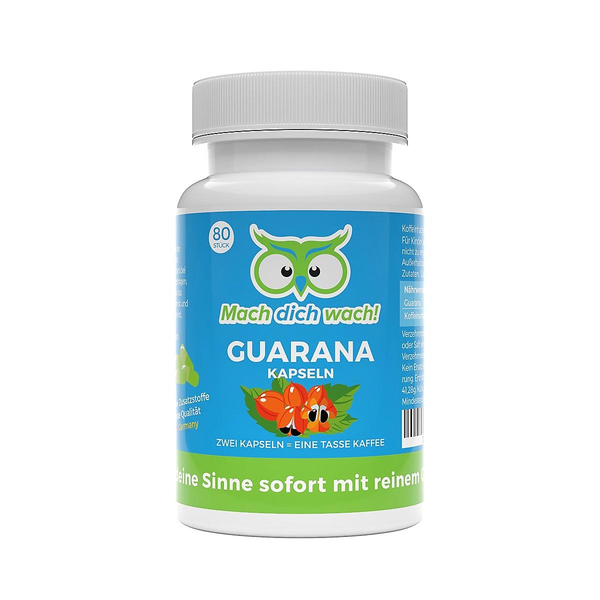 Guarana Kapseln von Vitamineule