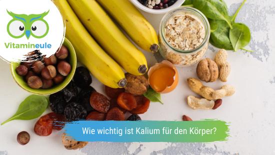 Wie wichtig ist Kalium für den Körper?