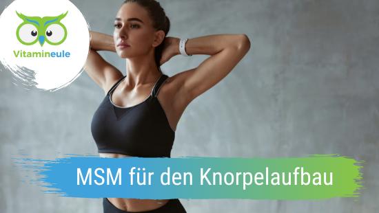 MSM für den Knorpelaufbau