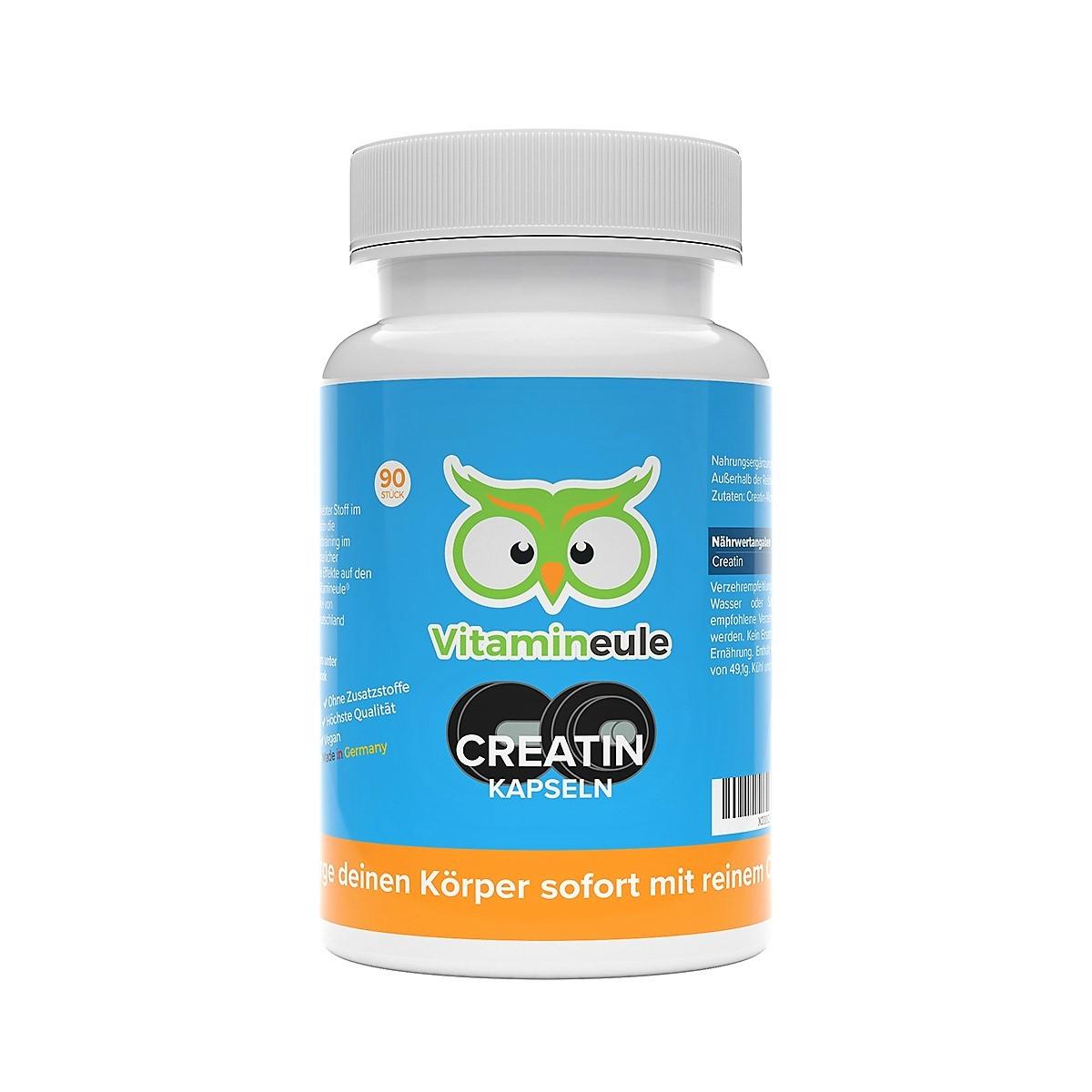 Creatin Kapseln von Vitamineule
