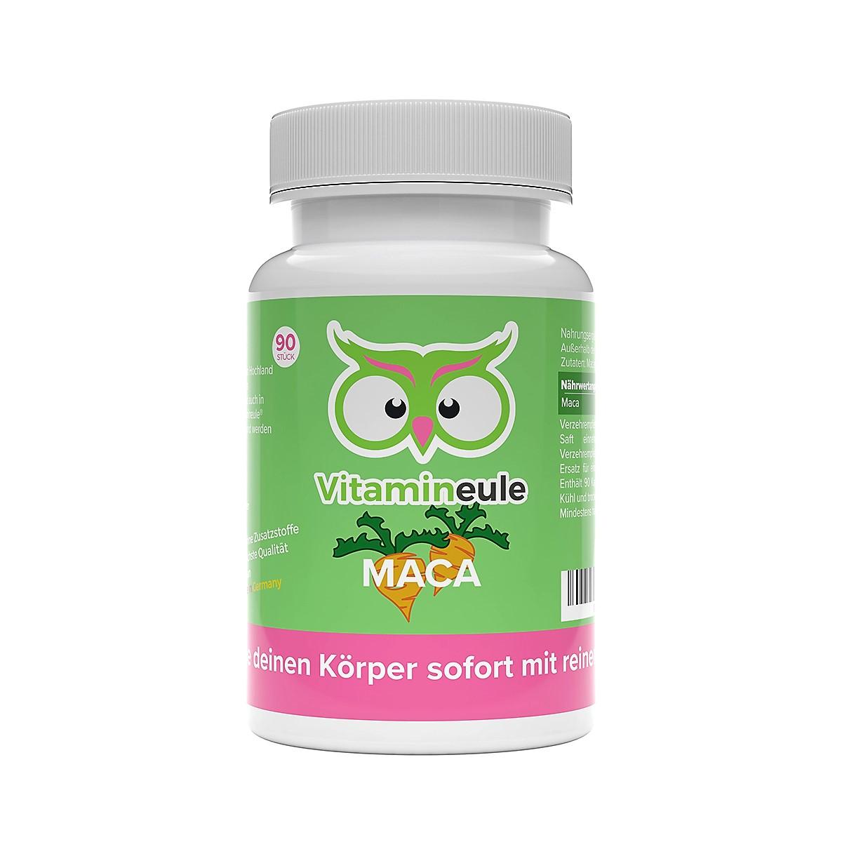 Maca Kapseln von Vitamineule