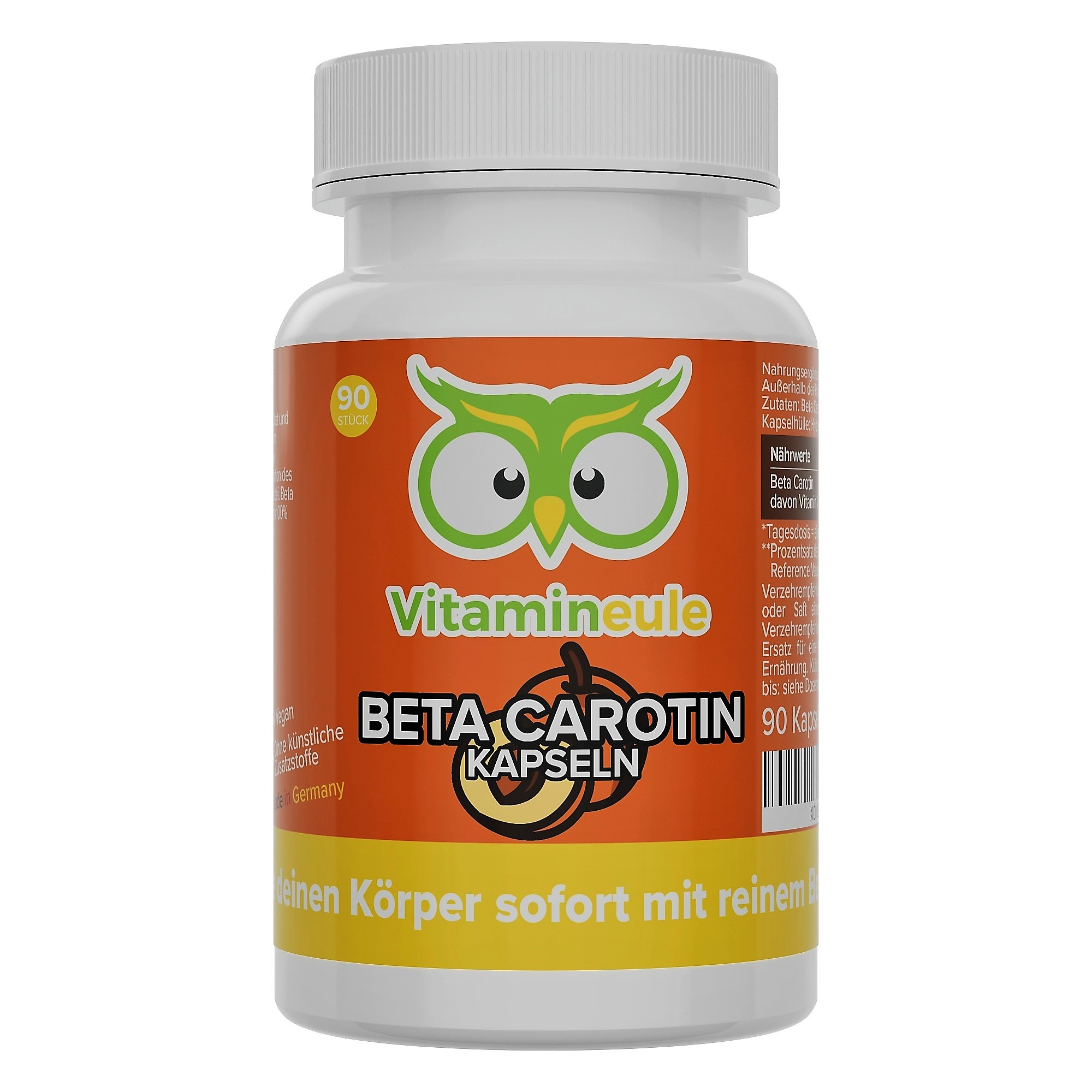 Beta Carotin Kapseln von Vitamineule