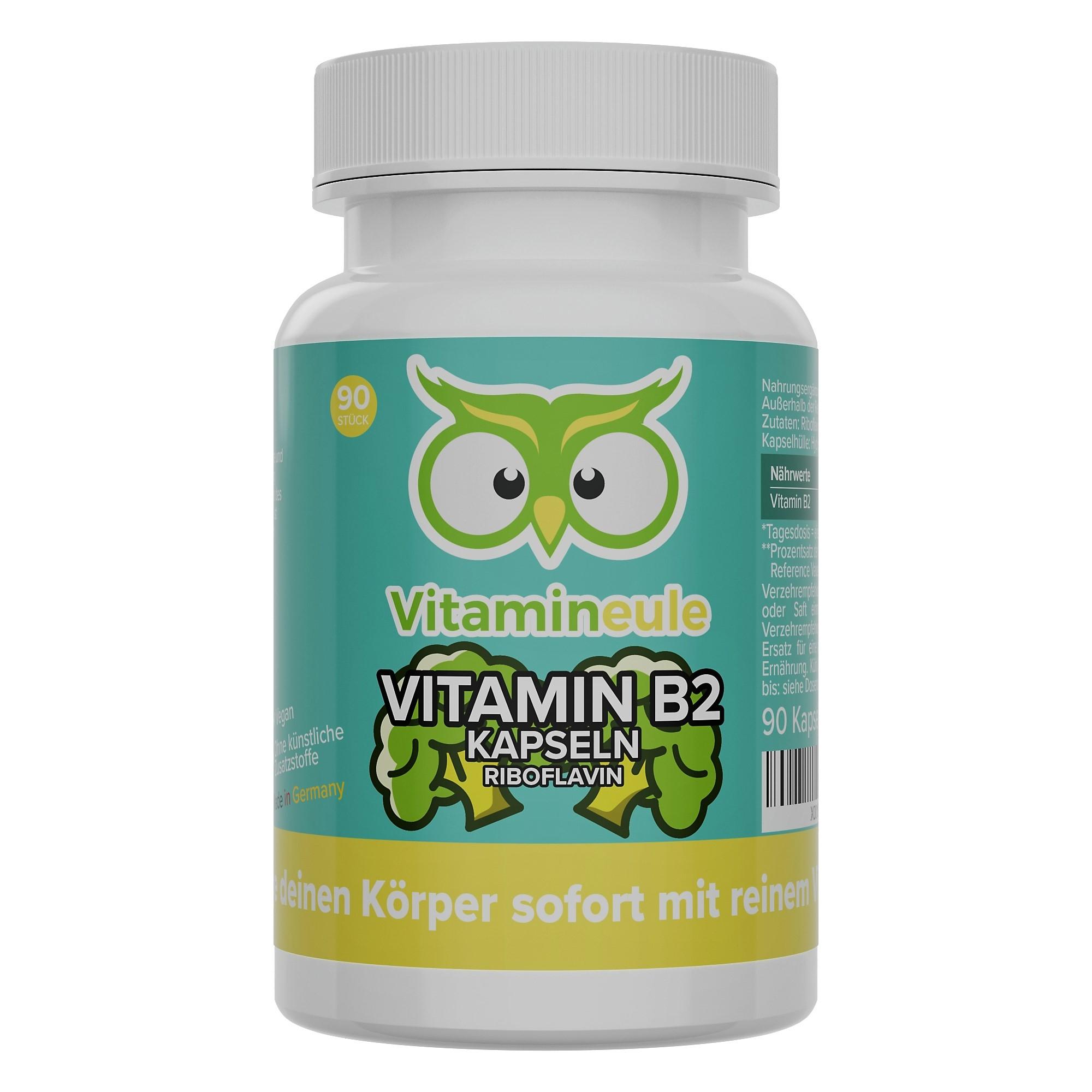 Vitamin B2 Kapseln von Vitamineule