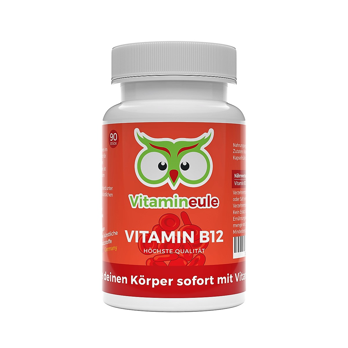 Vitamin B12 Kapseln von Vitamineule
