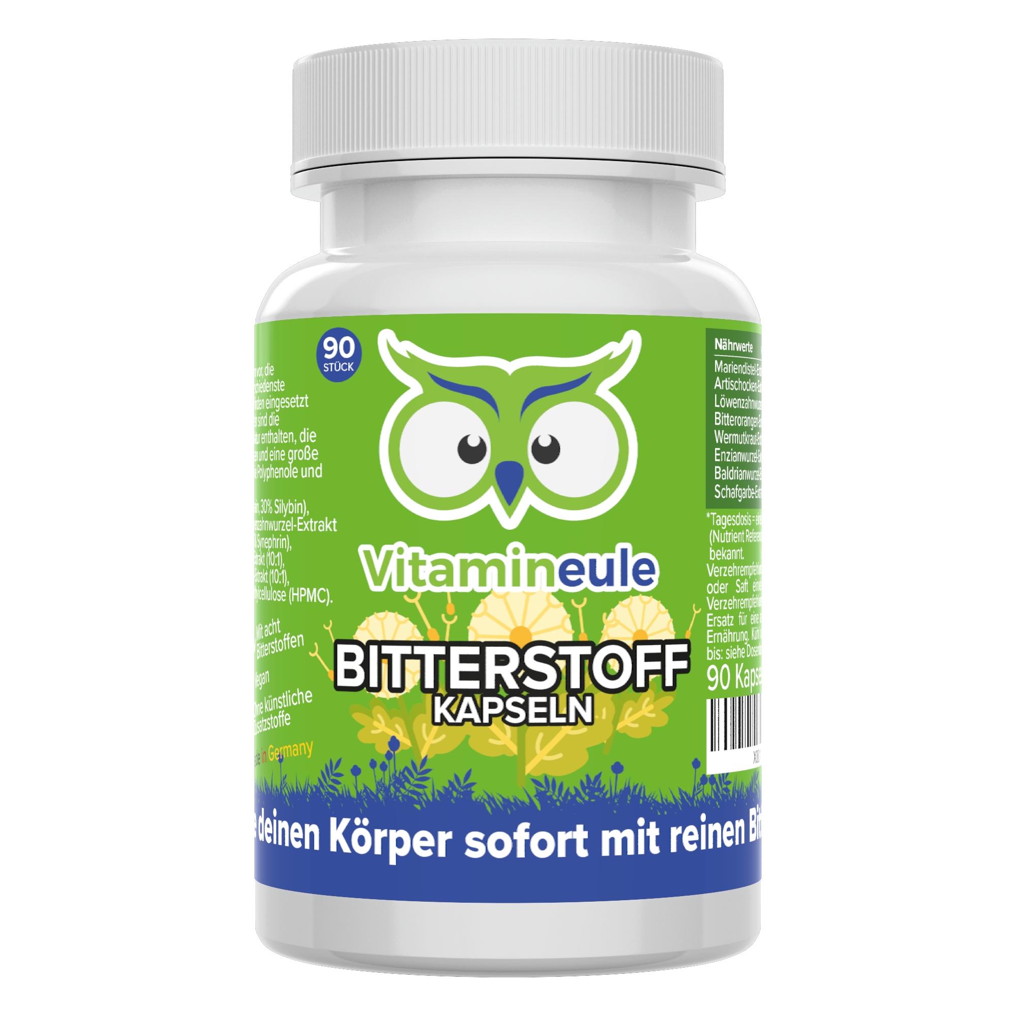 Bitterstoff Kapseln von Vitamineule