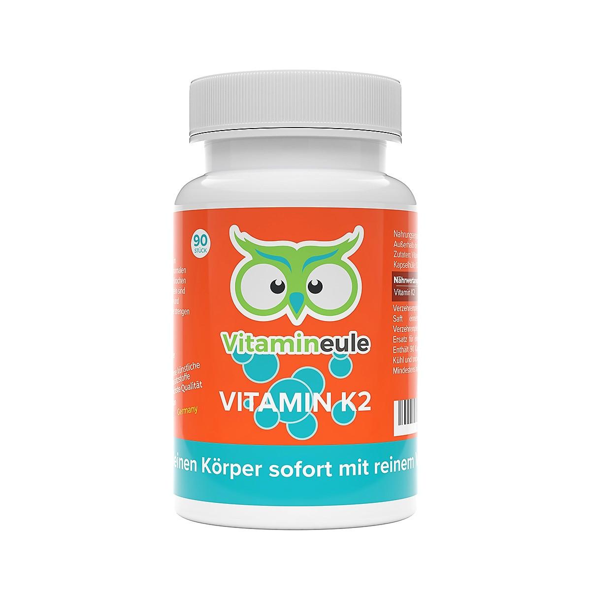 Vitamin K2 Kapseln von Vitamineule